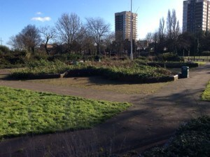 thames path groundworks - before pic 1