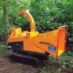 pic of tracked wood chipper